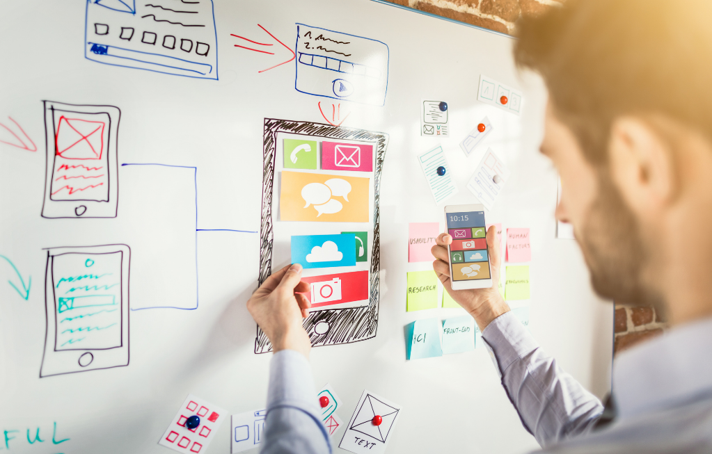 UX and UI are the make or break points when building an application